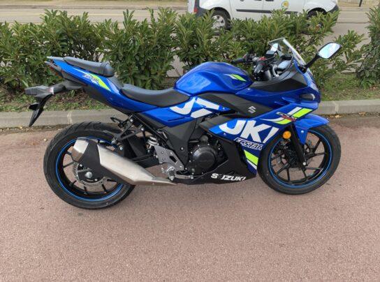 SUZUKI GSX-R 250 BLEU