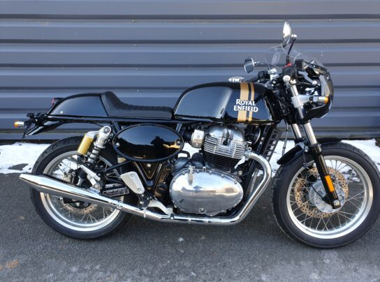 ROYAL ENFIELD 650GT BLACK MAGIC CAFE RACER